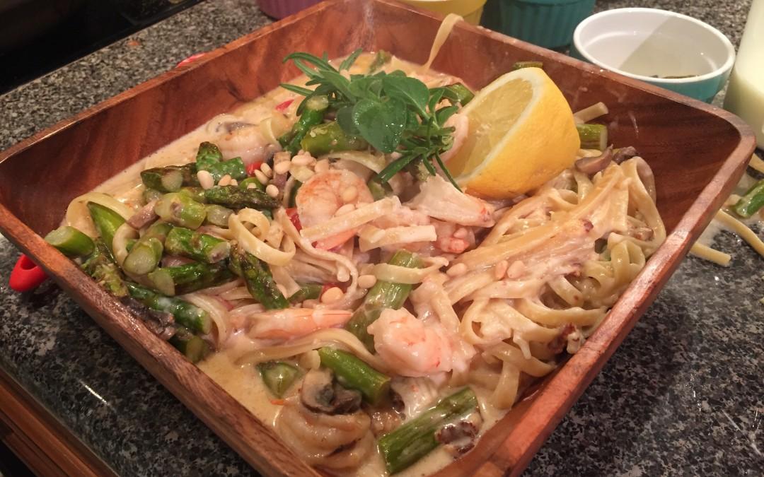 Shrimp Béchamel